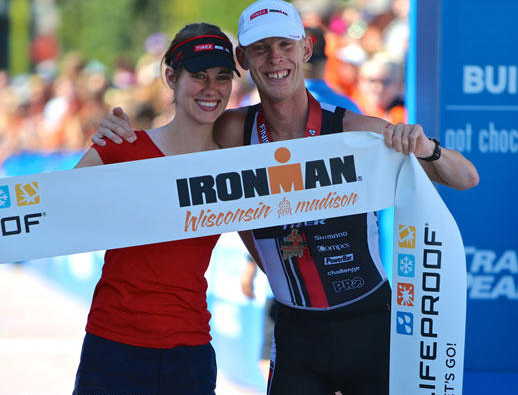 Winning Ironman Wisconsin